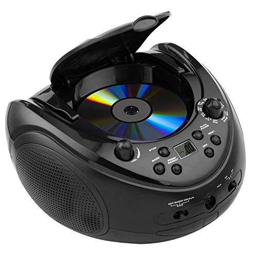 sAudio Portable CD Boombox, CD Player with AM FM Radio and Line-in Jack by SAUDIO (Image #3)