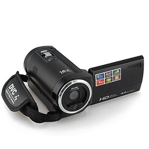 PowerLead Puto PLD010 720P 16MP Digital Video Camcorder Camera DV DVR 2.7inch TFT LCD 16x Zoom Portable Digital...