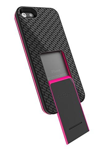 Backbone per iPhone 5/5S, motivo battistrada, colore: rosa