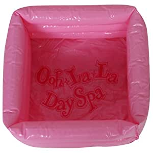 Pink Day Spa Inflatable Footbath
