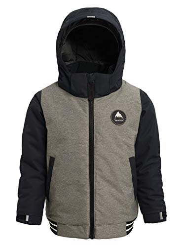Burton Toddler Boys' Gameday Bomber Jacket, Bog Heather/True Black, 4T
