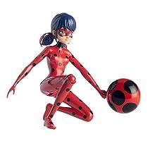 Bandai 39731 - Figura Salta y Vuela Ladybug, 19 cm