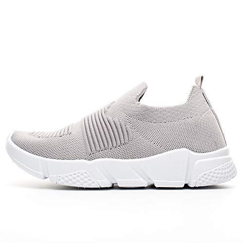 Workout Running Sneakers Light Athletic Women Scarpe Gym Baronhong Sportive Upgraded Grigio 6ZFwT