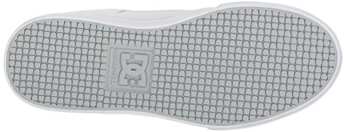 Pictures of DC Pure Elastic Skate Shoe White 5 M US Big Kid ADBS300385 7