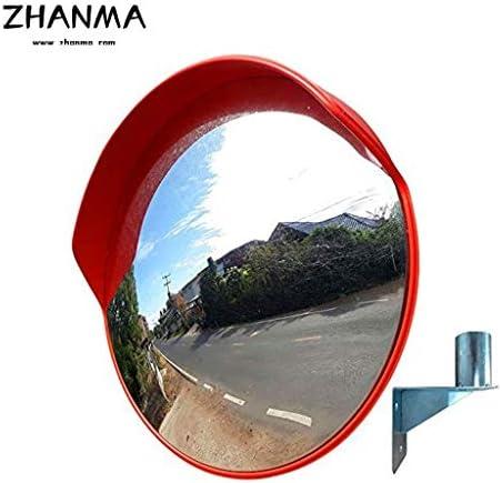 カーブミラー 屋外交通安全アンチコリジョンミラー地下ガレージがベンドプレミアム凸面鏡を回し30センチメートル45センチメートル60センチメートル75センチメートル80センチメートル100センチメートル120センチメートル、取付金具を送ります RGJ12-5 (Size : 30cm)