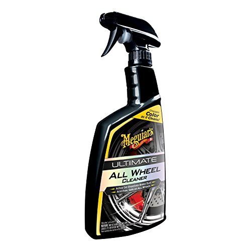 Meguiar's G180124 Ultimate All Wheel Cleaner, 24 fl. oz, 1 Pack