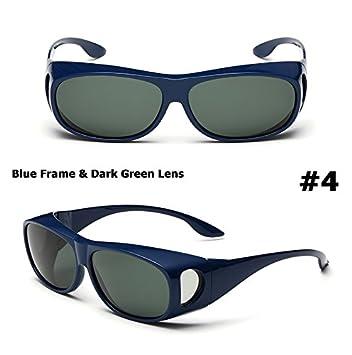Aprigy Gafas de sol polarizadas para hombre, lentes de conducción, pesca, para gafas de sol Myopia Polaroid, azul: Amazon.es: Deportes y aire libre