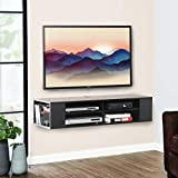 FITUEYES Wall Mount Shelf Media Console