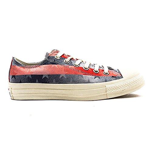 Converse  Chuck Taylor Bar & Stars Jaquard,  Unisex-Erwachsene Turnschuhe navy/rot