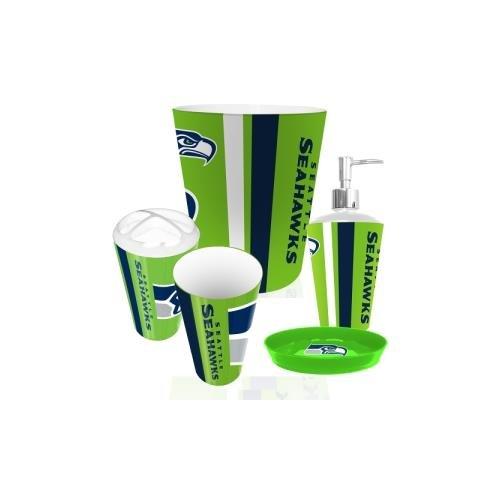 Seattle Seahawks 5 Piece Bathroom Set