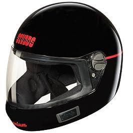 Studds Premium VENT Full Face Helmet (Black, M)