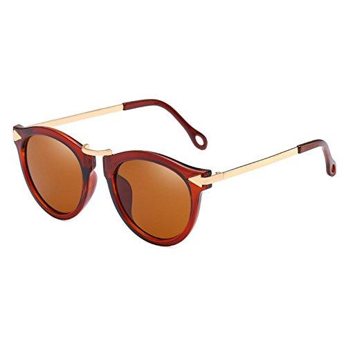 Nuevo Gafas Moda 2018 Gafas Viajar Reflectantes Novedad con Regalo Gafas Estilo de LanLan para Sol de de de Color de Film de de Aire Libre Tipo Transparente Gafas Gafas el cumpleaños de gafafs Sol EwHcIX