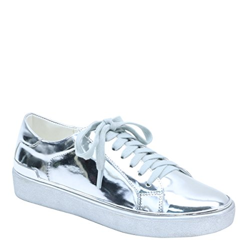 Brieten New Womens Comfort Casual Shoes Silver dYP1GVdi7