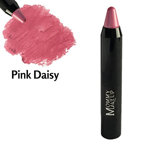 Triple Sticks Lipstick & Cream Blush [Pink Daisy] - Moisturizing long-wearing lip color with medium coverage for lips and (Lipstick Pink Daisy)