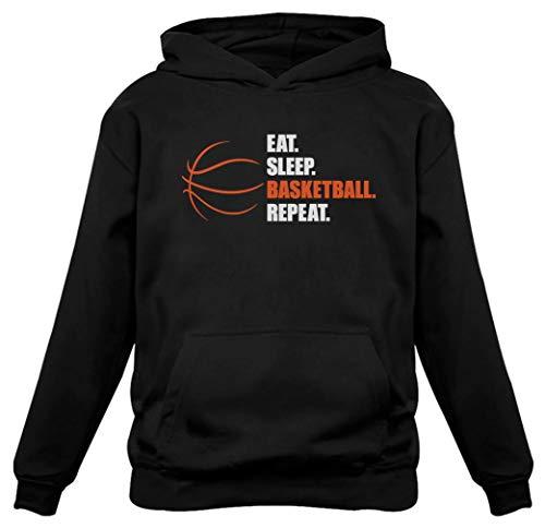 TeeStars - Eat Sleep Basketball Repeat - Gift for...