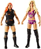 WWE FMF90 Charlotte and Becky Lynch Figure, Boys, Multi-Colour, 15 cm