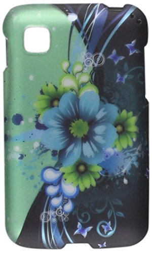 HR Wireless Rubberized Design Case for LG Optimus Dynamic II LG39C L39C - Retail Packaging - Sublime Flower (Lg Optimus Dynamic Phone Cover compare prices)