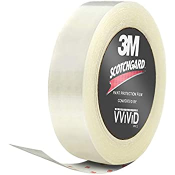 3M Clear Scotchgard Paint Protector Vinyl Wrap 2 Inch Wide Tape Roll (2 Inch x 96 Inch)