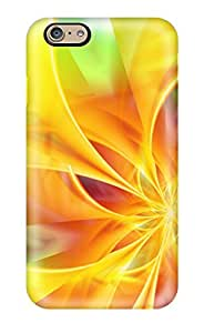 Anti-scratch And Shatterproof Yellow Phone Case For Iphone 6/ High Quality Tpu Case(3D PC Soft Case)
