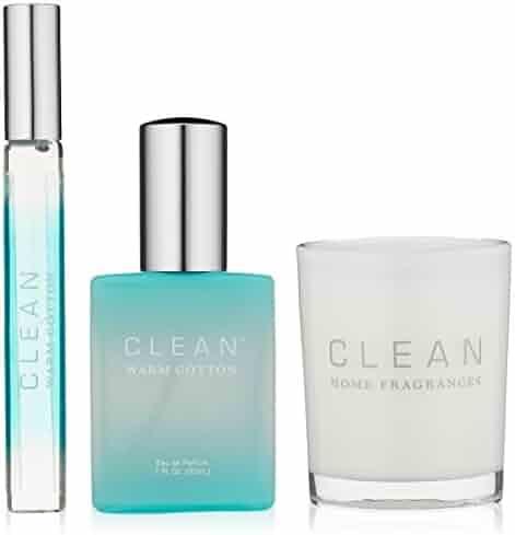 CLEAN Warm Cotton Trio Fragrance, Set of 3