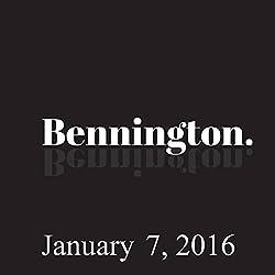 Bennington, January 7, 2016