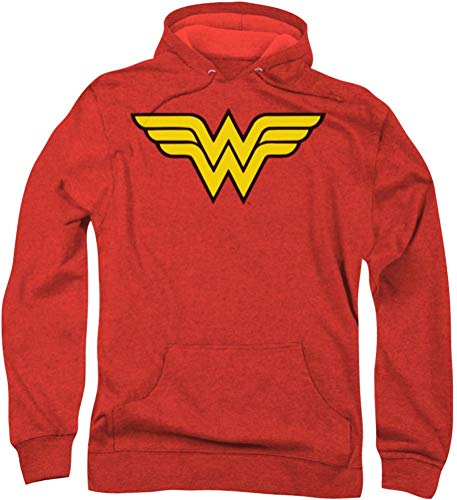 Dc Wonder Woman Logo Officially Licensed Adult Pullover Hoodie