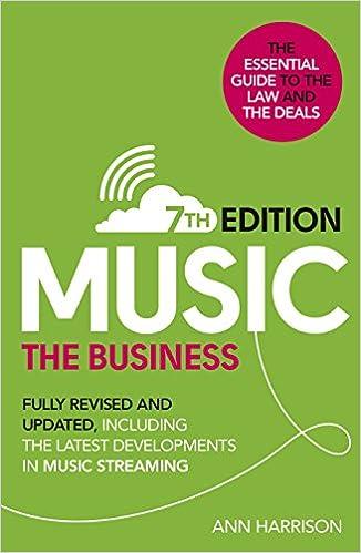 ผลการค้นหารูปภาพสำหรับ This Business Of Music (7th Edition)