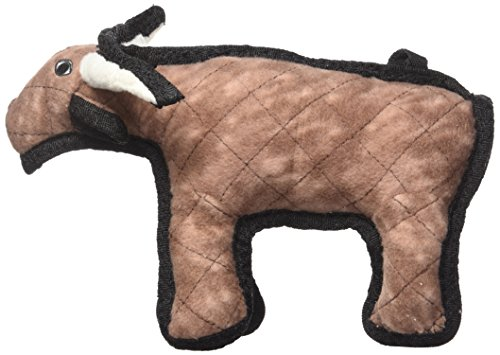 Picture of TUFFY Junior Barnyard Animal Bull, Durable Dog Toy, Small