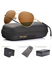 Men Aviator Sunglasses Polarized Women - UV 400 with case 60MM