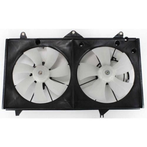 MAPM Premium SOLARA 02-06 RADIATOR FAN SHROUD ASSEMBLY, Dual, 4 Cyl