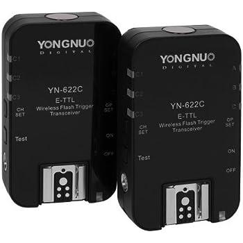 Amazon Com Yongnuo Wireless Ettl Flash Trigger Yn622c Ii