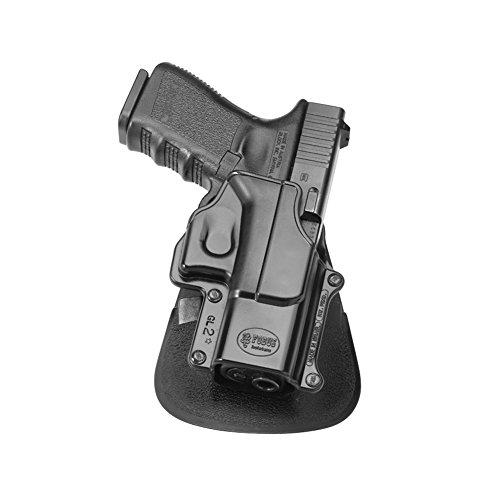 Fobus GL2E2LH Left Handed Variation - Paddle Gun Holster for Glock 17, 19, 22, 23, 31, 32, 34, 35