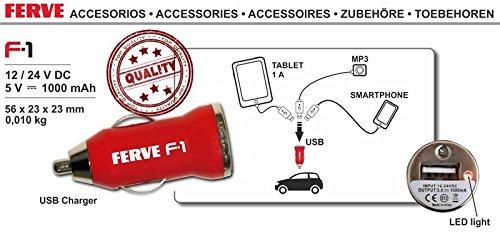 FERVE F-1 Cargadores y arrancadores: Amazon.es: Coche y moto