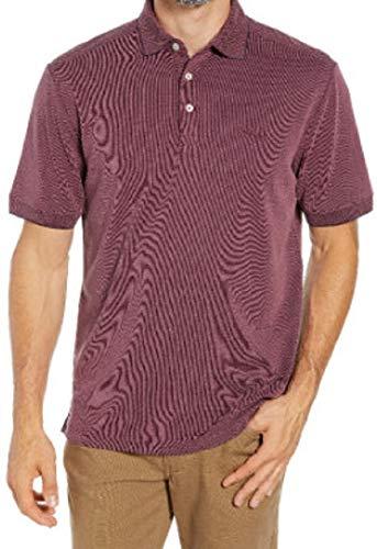 (Tommy Bahama Island Zone Coastal Crest Golf Polo Shirt (Color: Grape Wine, Size XXL) )