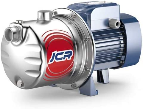 Pedrollo - Bomba de agua JCR1A 0,55 kW acero inoxidable hasta 3,6 m3/h trifásico 380 V
