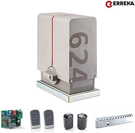 Kit Motor Erreka Puerta Corredera Lince 600 LIS624: Amazon.es ...