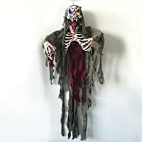 Giftower 5-Ft Halloween Skull Hanging Spooky Vampire Ghost Deals