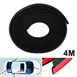 cciyu Window Door Rubber Seal Strip,4M 160 Z-shape Window Door Seal Strip,Door Strip Doors Sealing Sticker Adhesive for Doors and Windows Gaps of Anti-Collision Hollow Weatherstrip