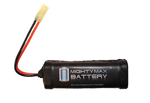 Mighty Max Battery 9.6V 1600mAh Flat Replaces Umarex Tavor TAR-21 LE FPS-345 AEG Rifle brand product by Mighty Max Battery