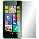 """2 x Slabo Displayschutzfolie Nokia Lumia 630/635 Displayschutz Schutzfolie Folie """"Crystal Clear"""" unsichtbar MADE IN GERMANY"""