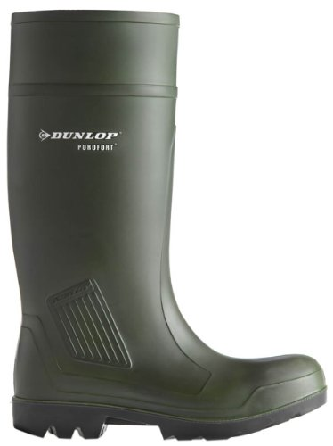 Dunlop c46293311Purofort Wellington Grn S5Taille 11