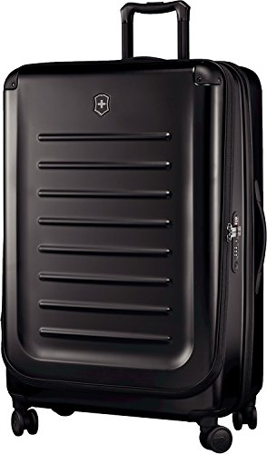 Victorinox Spectra 2.0 Hardside Spinner Suitcase, Black, Expandable Checked- Extra Large (32″)