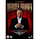DERREN BROWN LIVE COLLECTION: SOMETHING WICKED THIS WAY COMES/ AN EVENING OF WONDERS/ ENIGMA [NON-USA Format / Import / Region 2 / PAL]