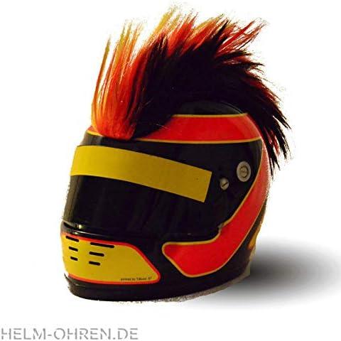 """""""Gebirgskamm-Helm in Deutschland-Farben, Ski- oder Motorrad-Helm"""