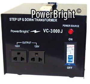 100V 3000W Step Up Down Transformer