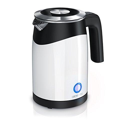 arendo - Hervidor de Agua Single - Hervidor de Agua para Viajes - Minihervidor de Agua - Capacidad para 0,5 l de Agua - 5 temperaturas - Pared Doble - Muy practico y Compacto