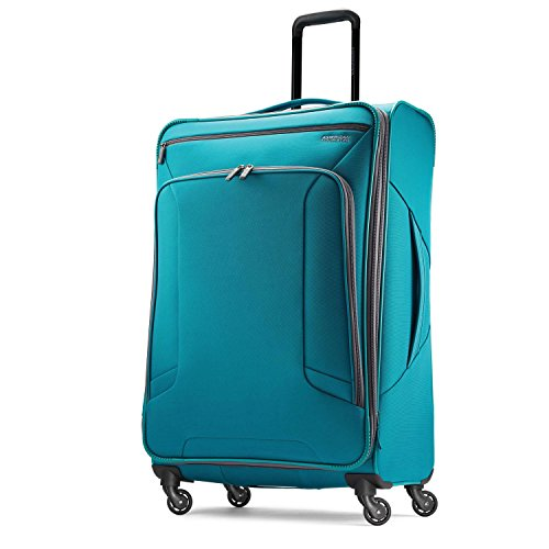 American Tourister 4 Kix Spinner 28-inch Checked-Large Only $55.99