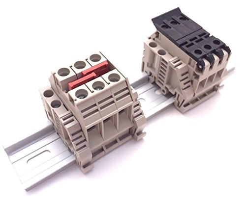 (Dinkle Solar Combiner Box 3 Fused 10 AWG Inputs 6 AWG Output 36A 600V)