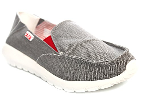 41 Ava 8 Zapatos Funk Grey Dude para Gris Tamaño mujer Uaqqtxz1