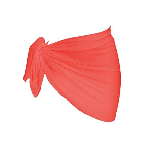 Banana Moon-Toalla pareo Lycramat, color rosa fluorescente, color rojo rojo: Amazon.es: Ropa y accesorios
